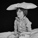 Wollen kinderkussen - SITHON 50x30 cm_