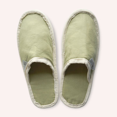 Coconut organic cotton - SLIPPERS